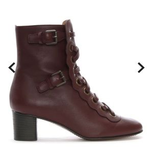 Chloe Orson ankle boots in smooth calfskin